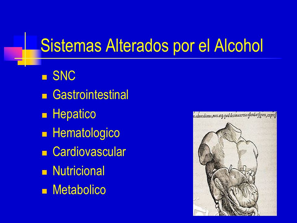 Sistemas Alterados por el Alcohol