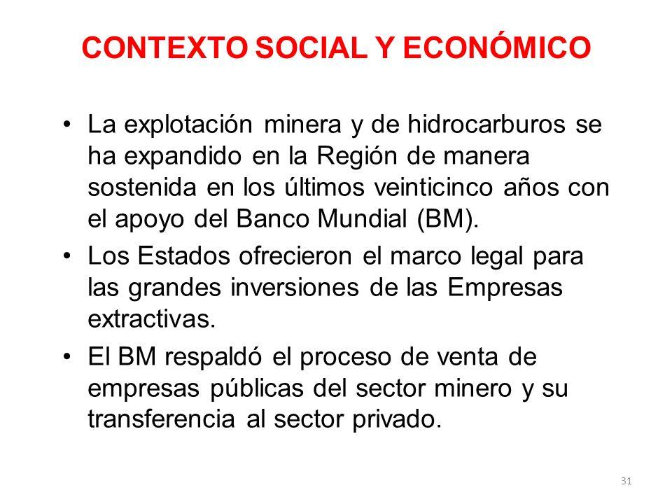 CONTEXTO SOCIAL Y ECONÓMICO