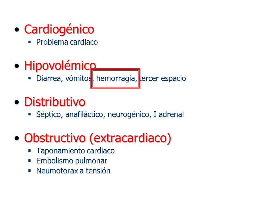 Obstructivo (extracardiaco)
