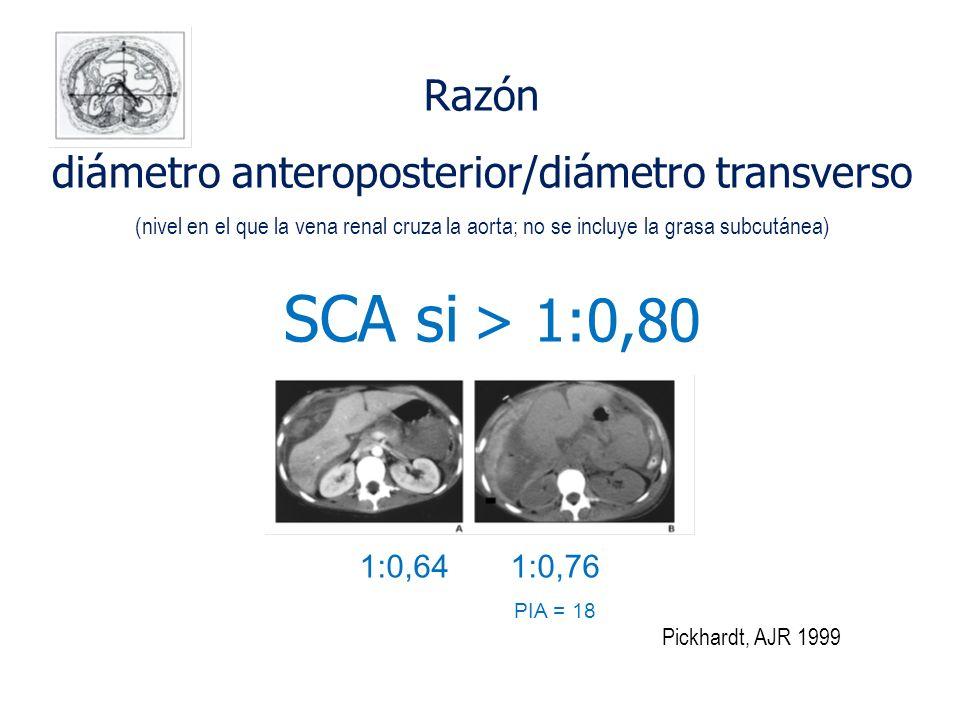 diámetro anteroposterior/diámetro transverso