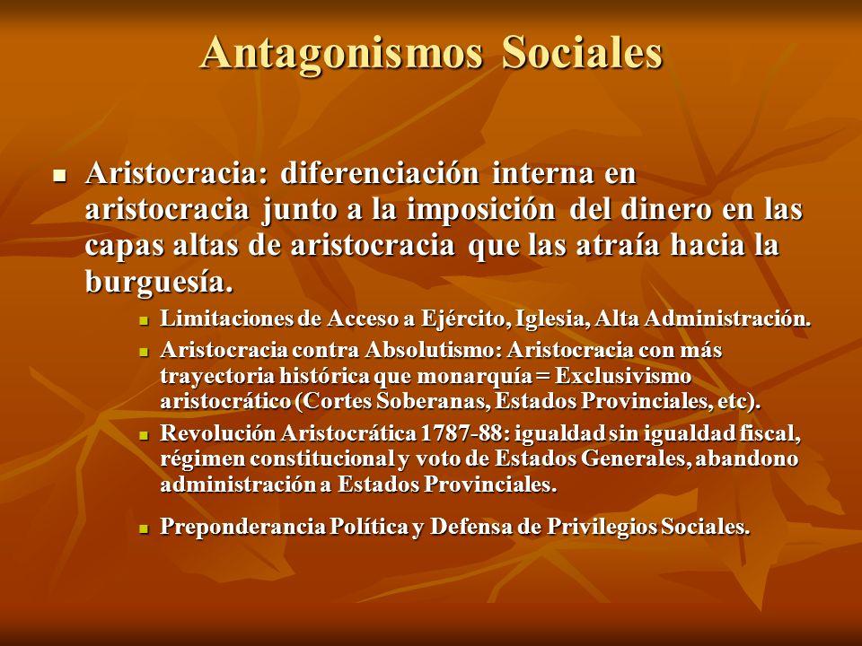 Antagonismos Sociales