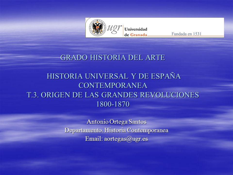 Departamento. Historia Contemporanea