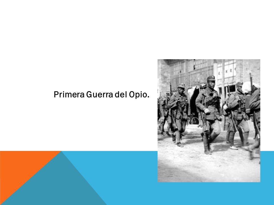 Primera Guerra del Opio.