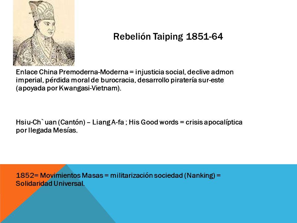 Rebelión Taiping 1851-64