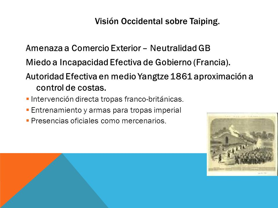 Visión Occidental sobre Taiping.
