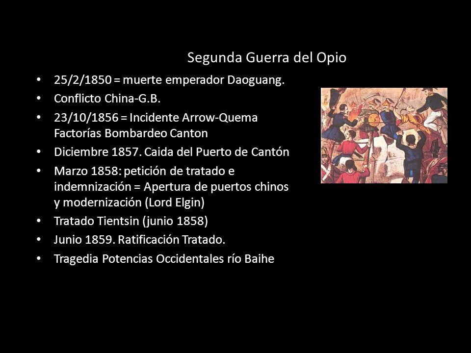Segunda Guerra del Opio