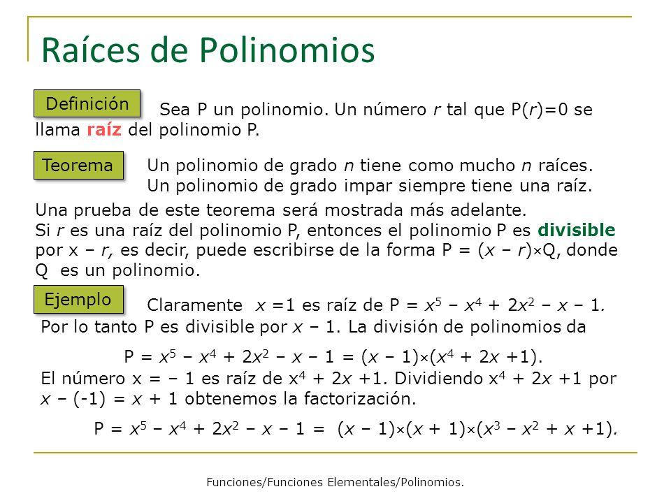 Funciones/Funciones Elementales/Polinomios.