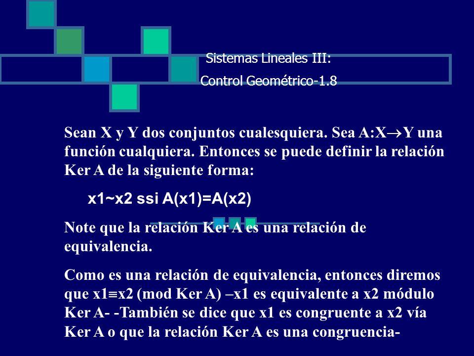 Sistemas Lineales III: Control Geométrico-1.8