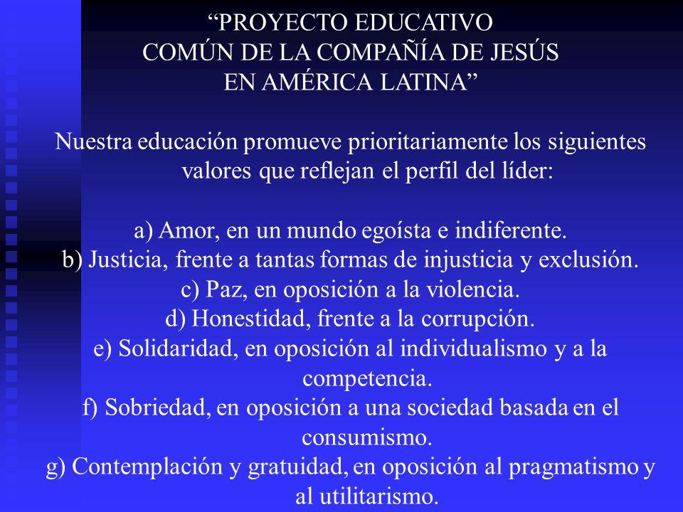 COMÚN DE LA COMPAÑÍA DE JESÚS EN AMÉRICA LATINA