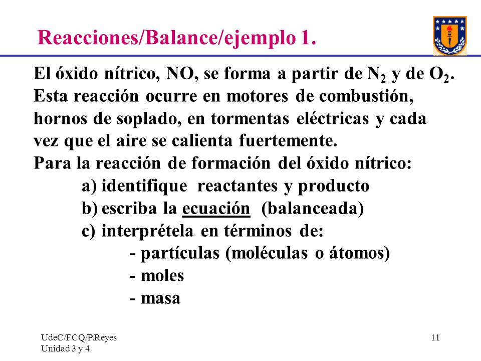 Reacciones/Balance/ejemplo 1.