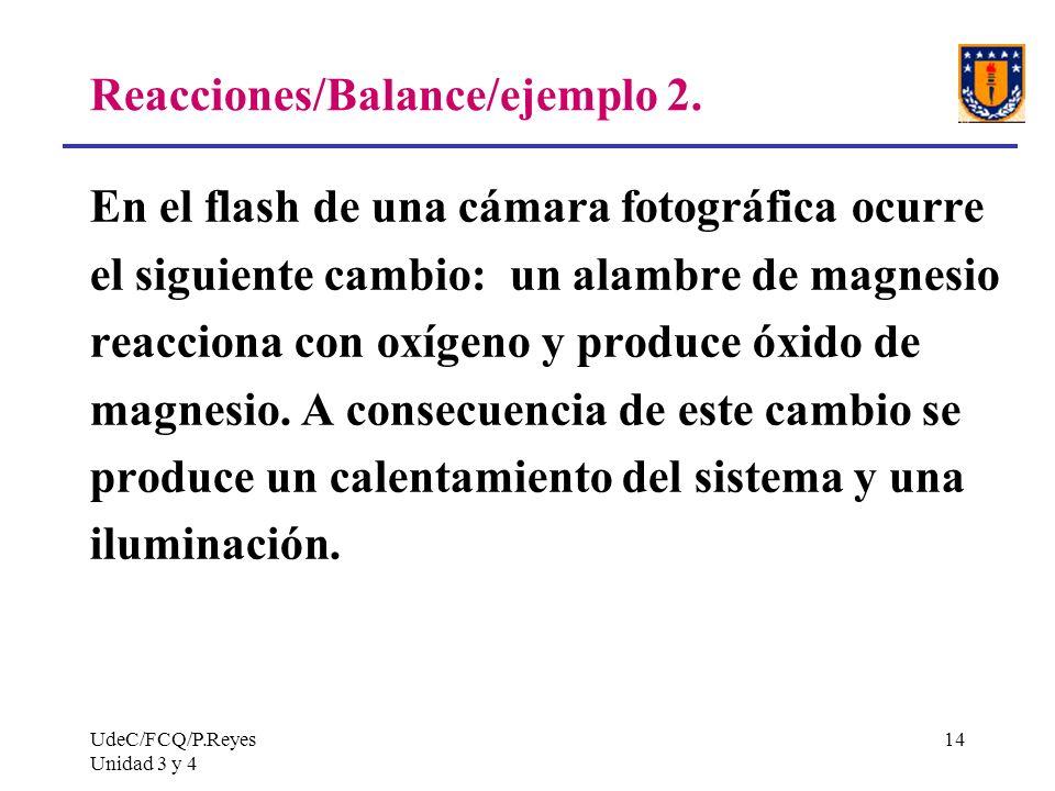 Reacciones/Balance/ejemplo 2.