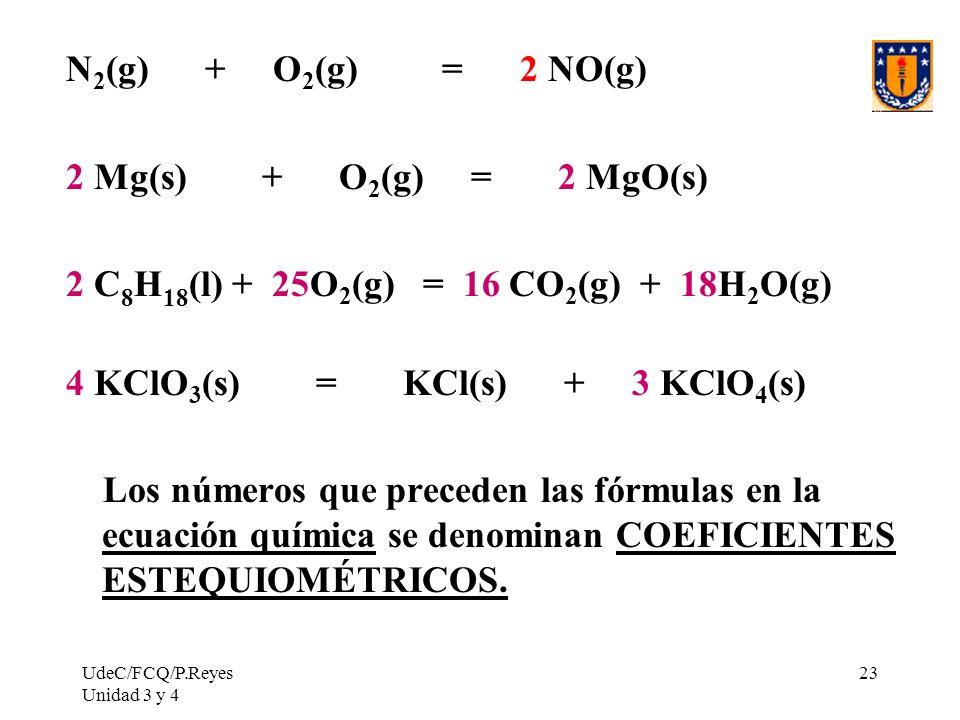 2 C8H18(l) + 25O2(g) = 16 CO2(g) + 18H2O(g)