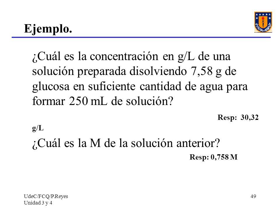 ¿Cuál es la M de la solución anterior