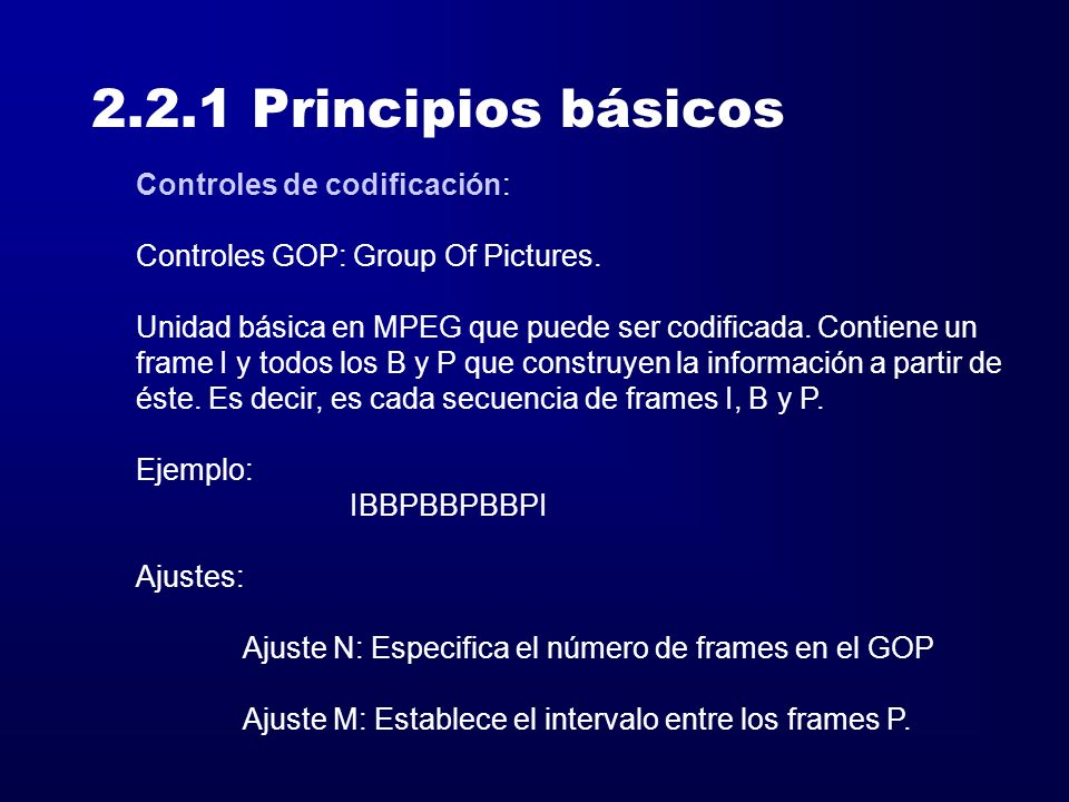 2.2 Vídeo Principios básicos Soportes multimedia - ppt descargar