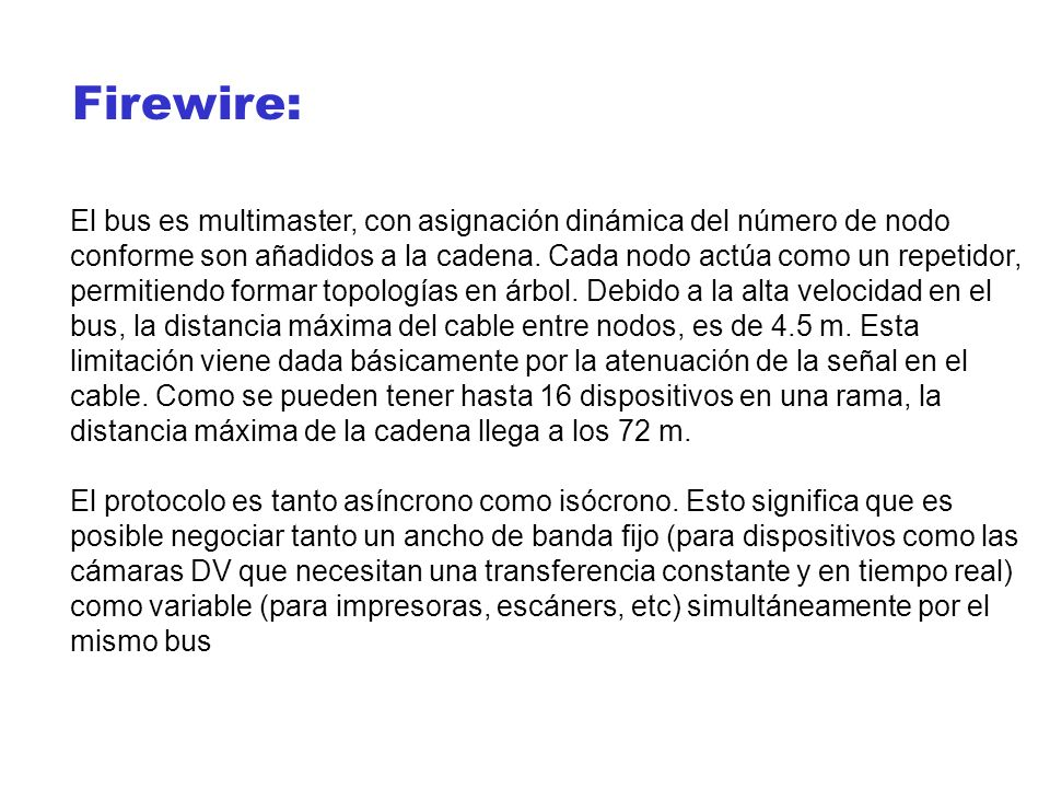 Firewire: