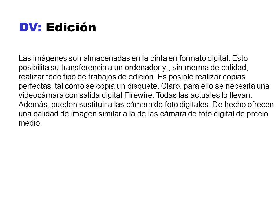 DV: Edición