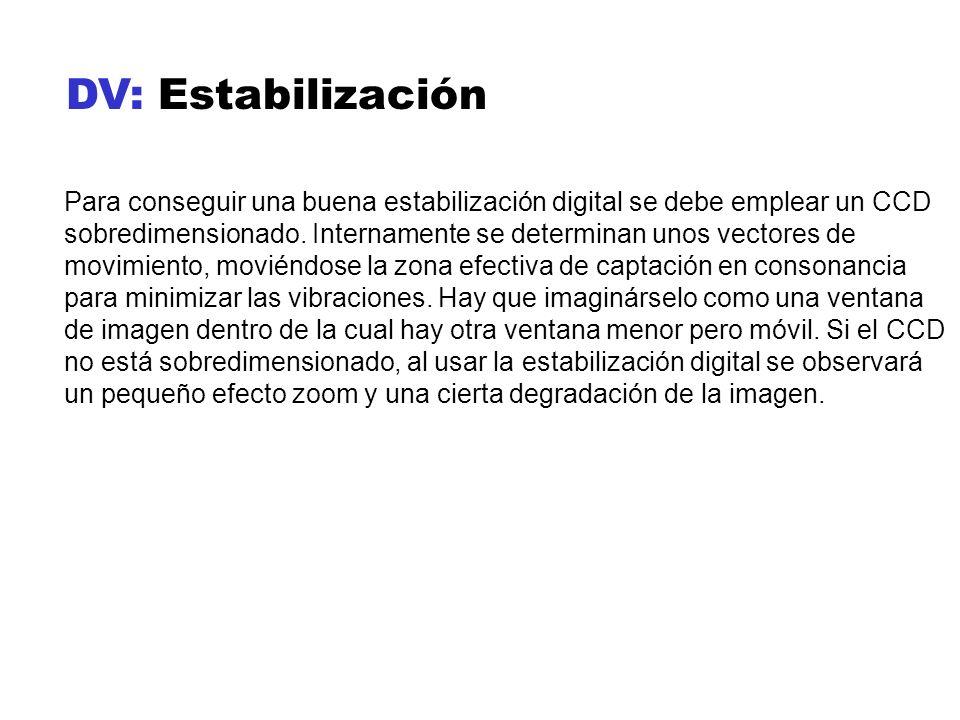 DV: Estabilización