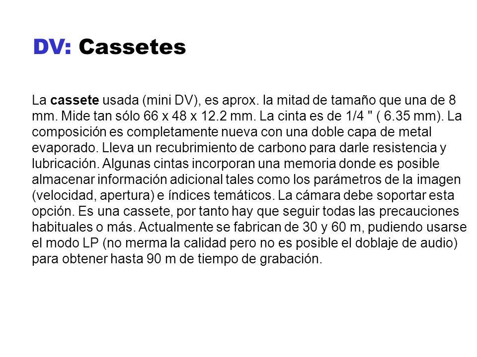 DV: Cassetes