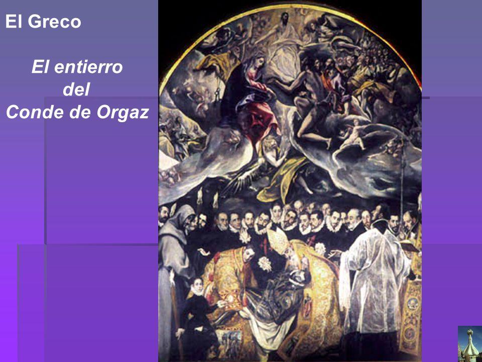 El Greco El entierro del Conde de Orgaz