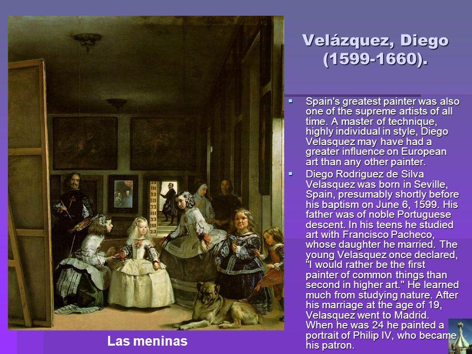 Velázquez, Diego (1599-1660). Las meninas