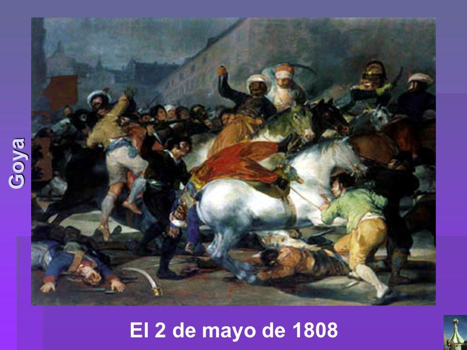 Goya El 2 de mayo de 1808