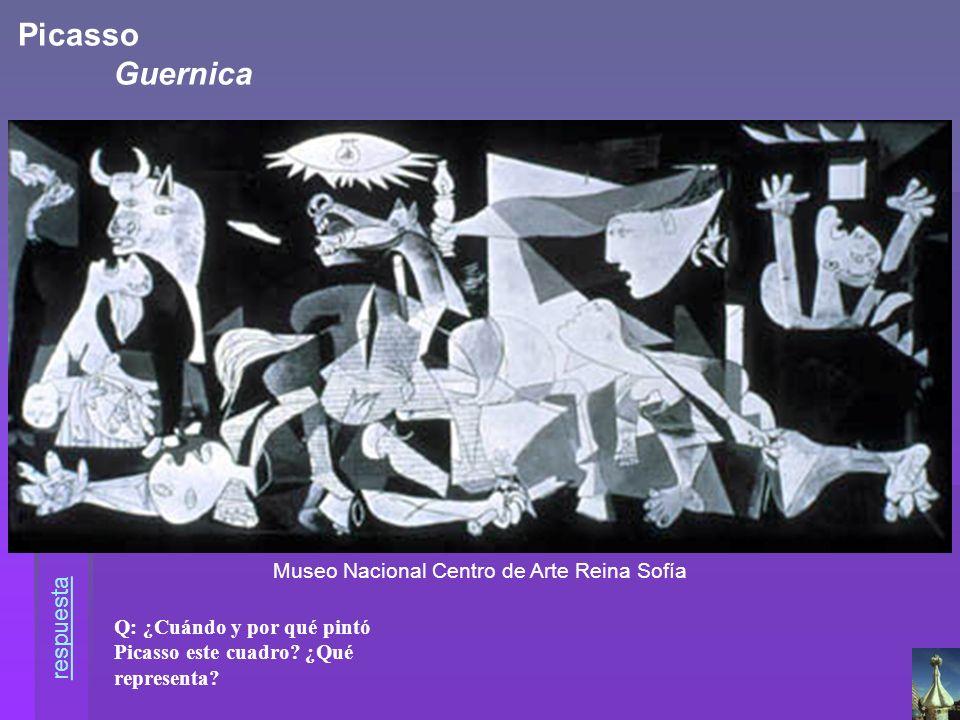 Picasso Guernica respuesta