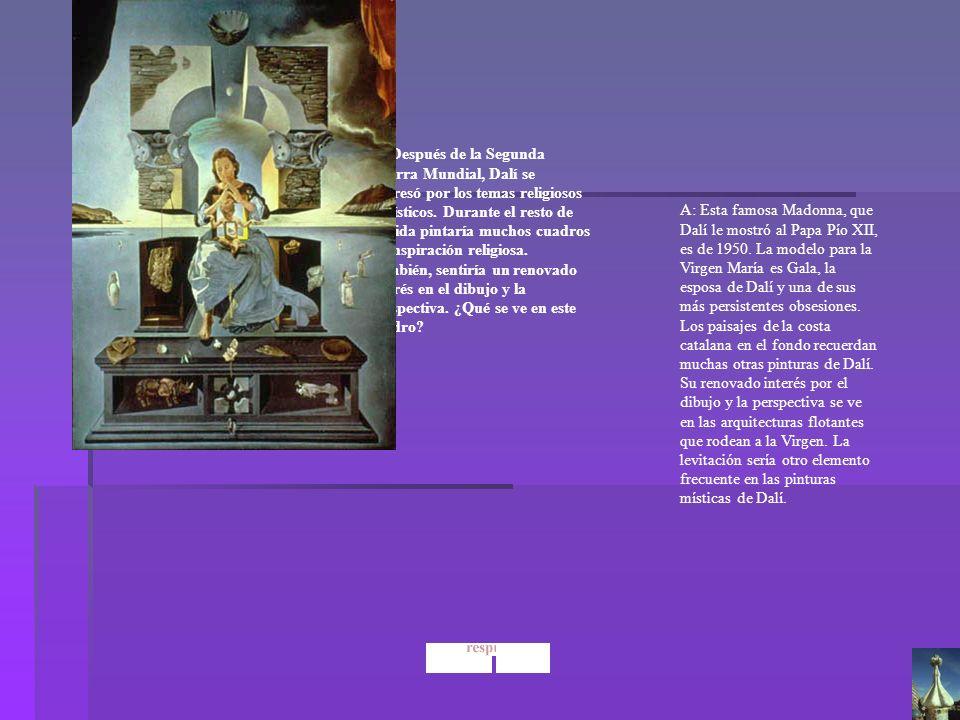 Dalí La Madonna de Port Lligat