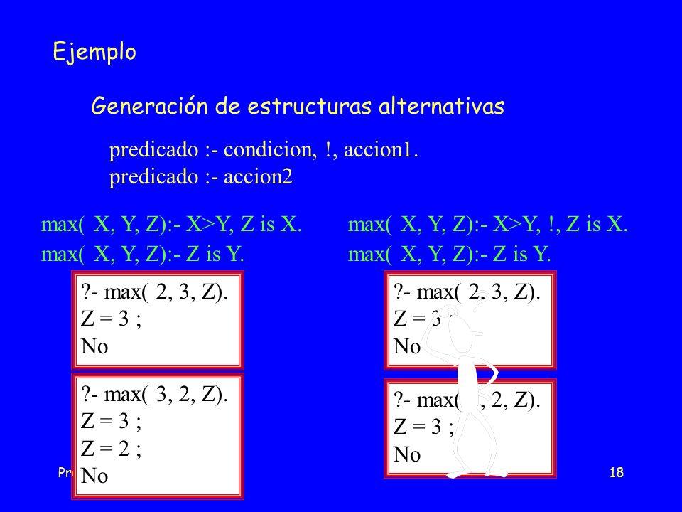 Generación de estructuras alternativas