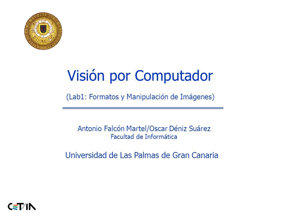 Visión por Computador Universidad de Las Palmas de Gran Canaria