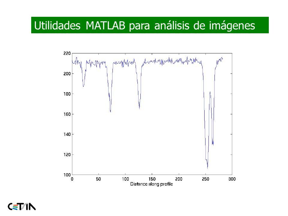 Utilidades MATLAB para análisis de imágenes