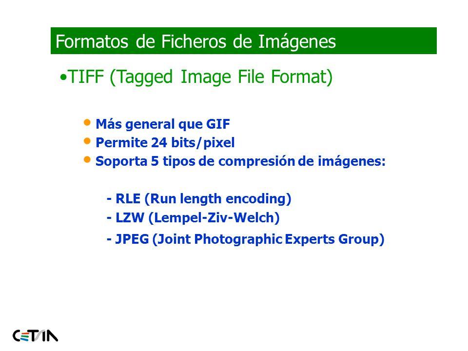 Formatos de Ficheros de Imágenes