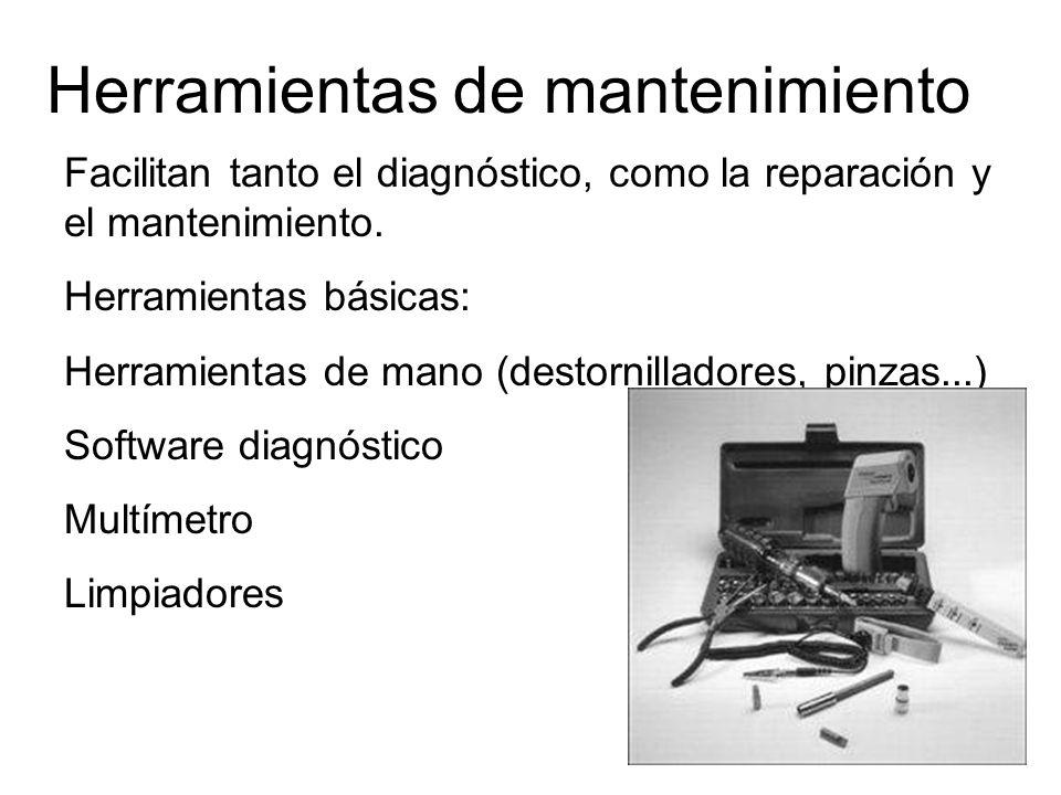 Herramientas de mantenimiento