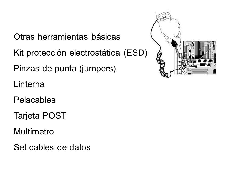 Otras herramientas básicas
