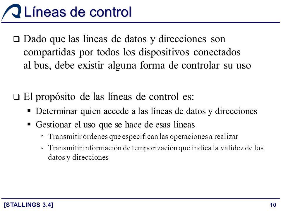 Líneas de control