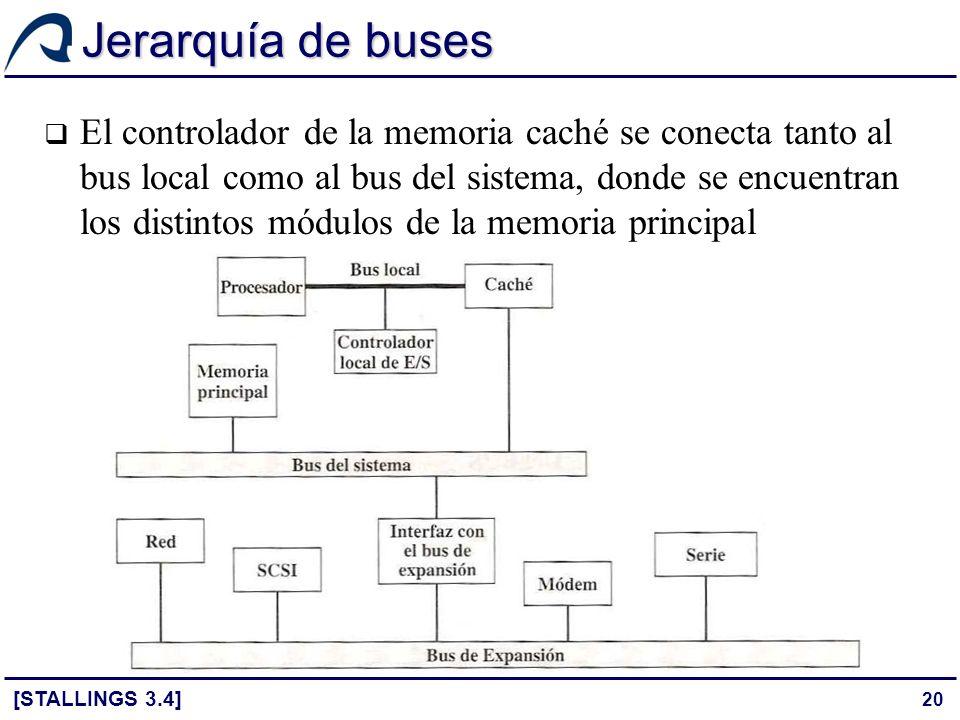 Jerarquía de buses