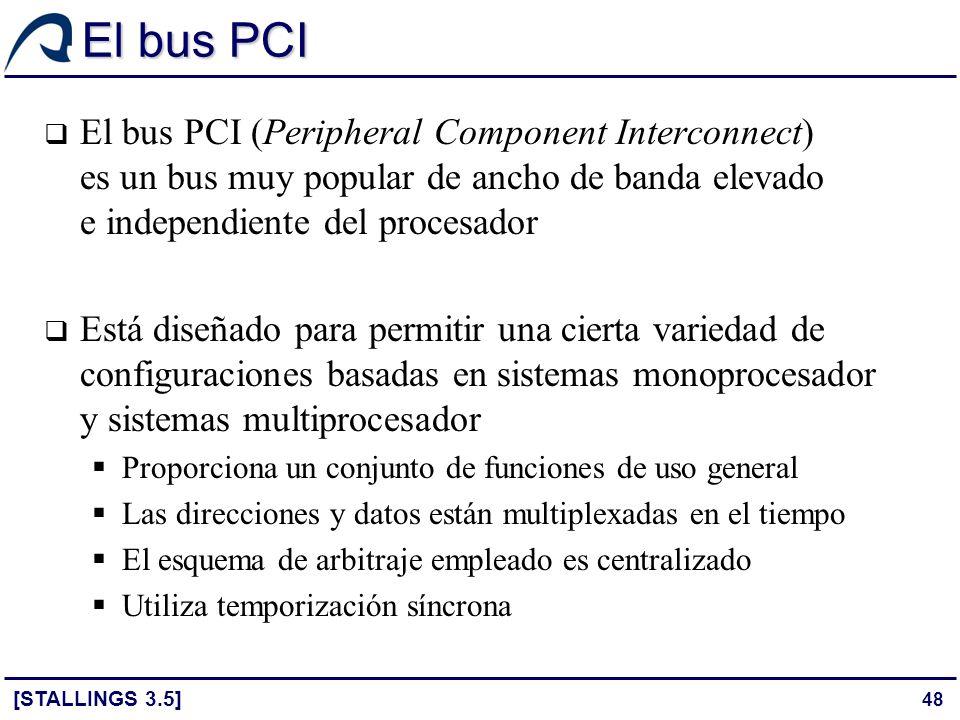 El bus PCI