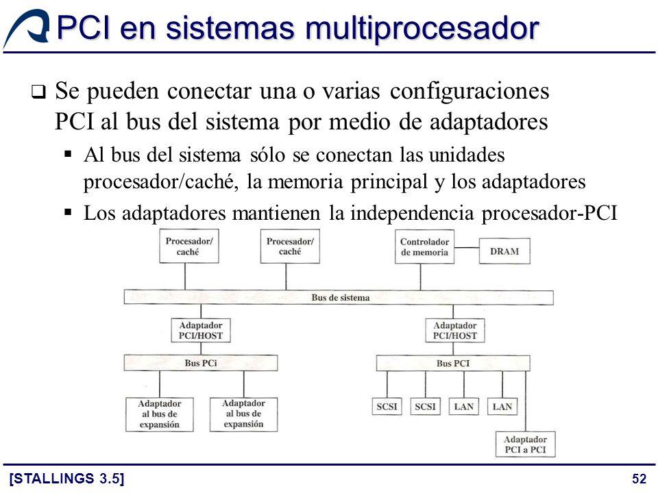 PCI en sistemas multiprocesador