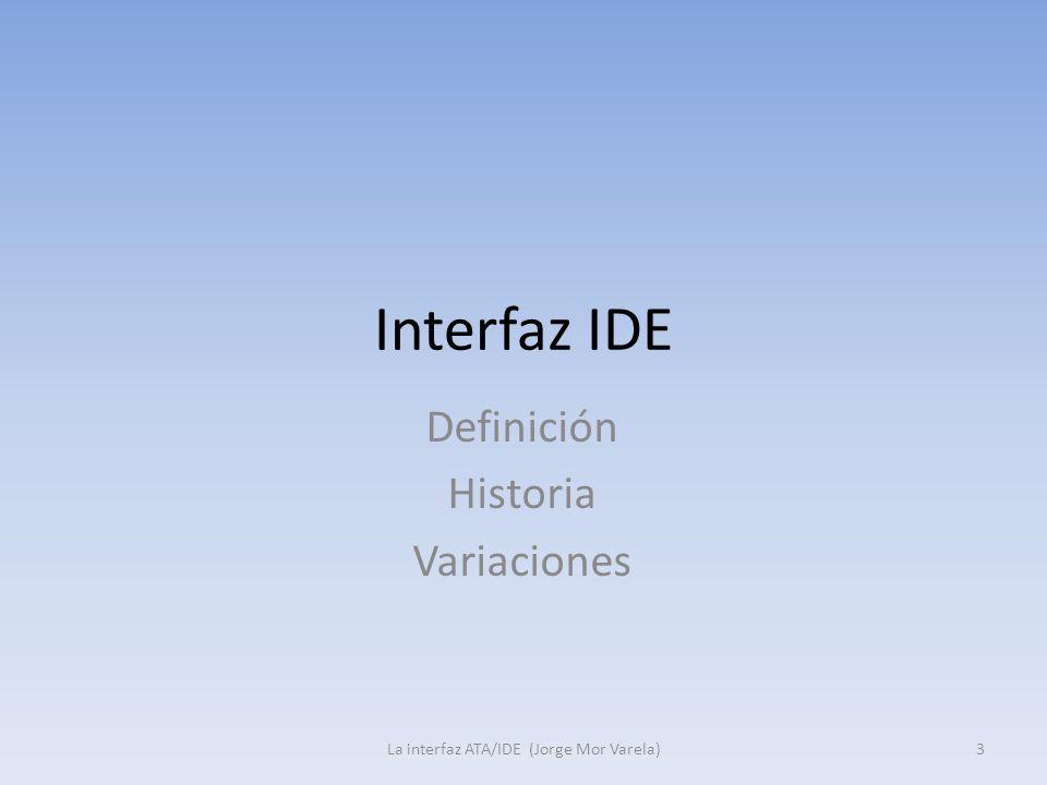 Definición Historia Variaciones