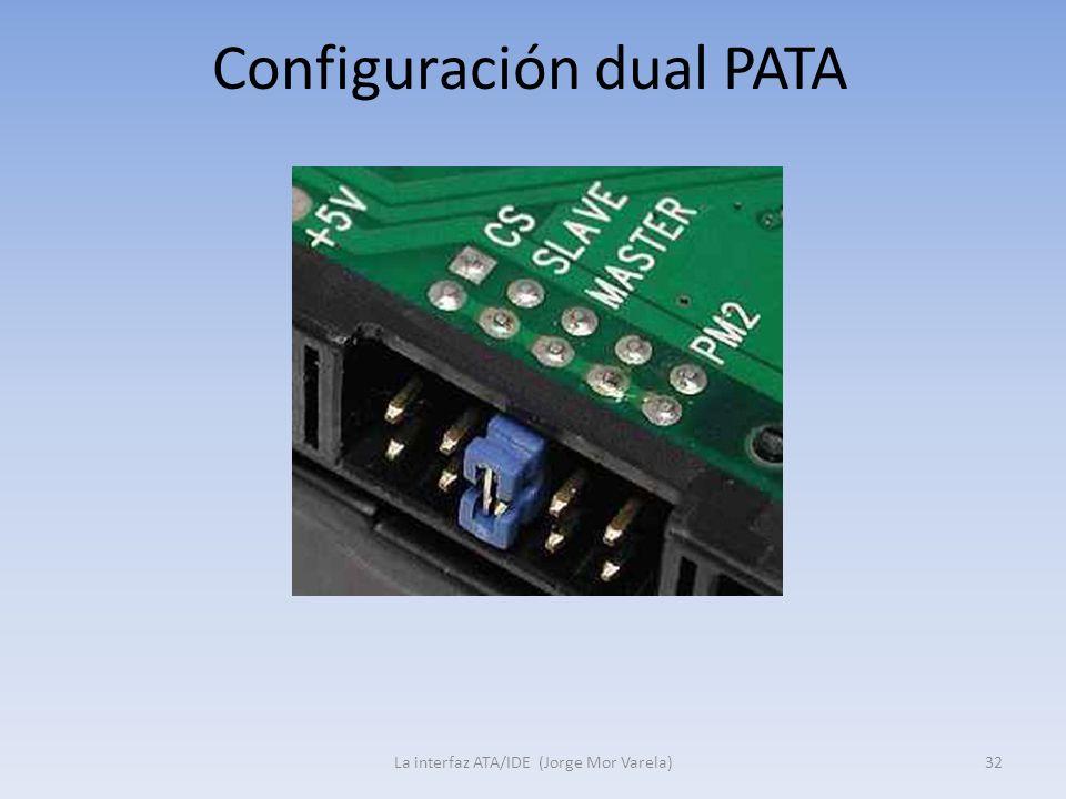 Configuración dual PATA