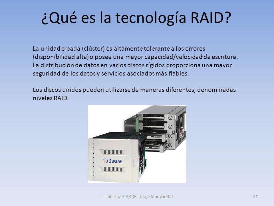 ¿Qué es la tecnología RAID