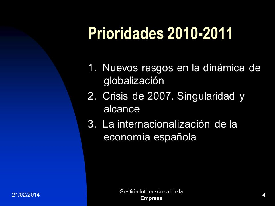 Gestión Internacional de la Empresa