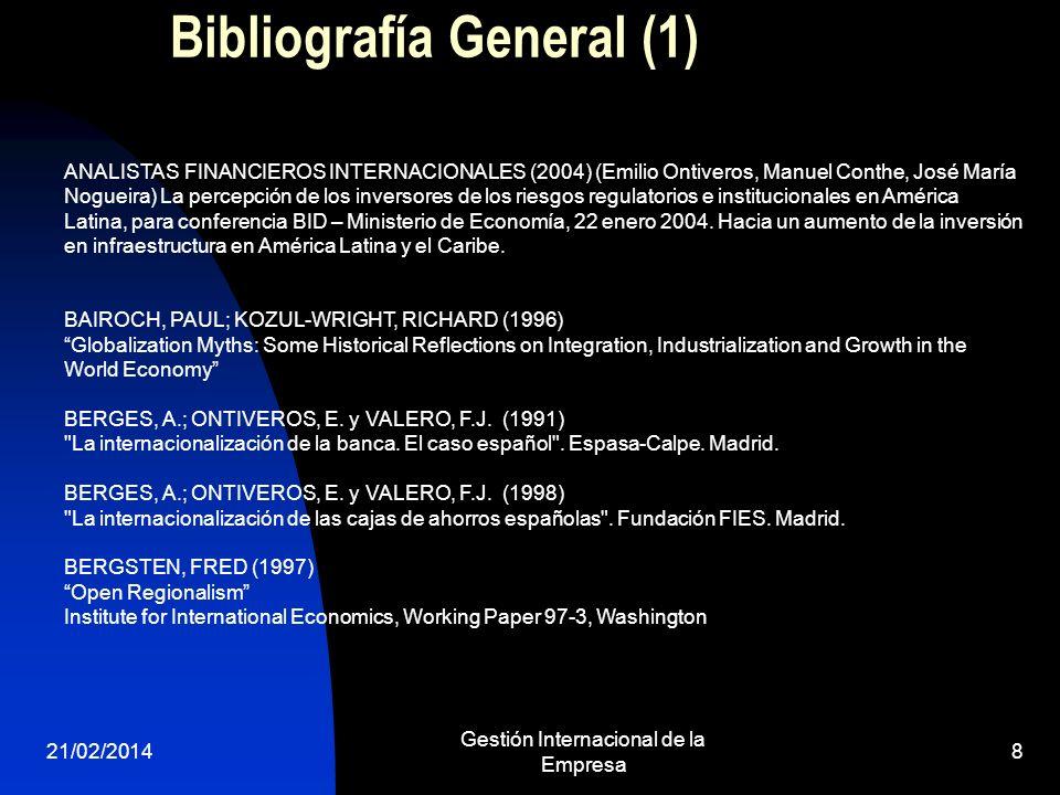 Bibliografía General (1)