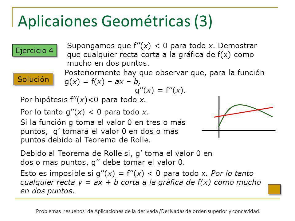 Aplicaiones Geométricas (3)
