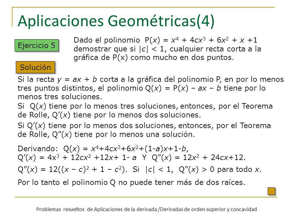 Aplicaciones Geométricas(4)