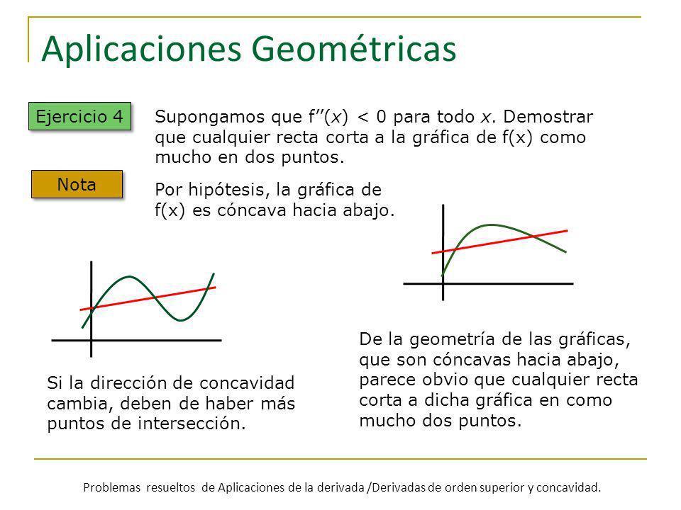 Aplicaciones Geométricas