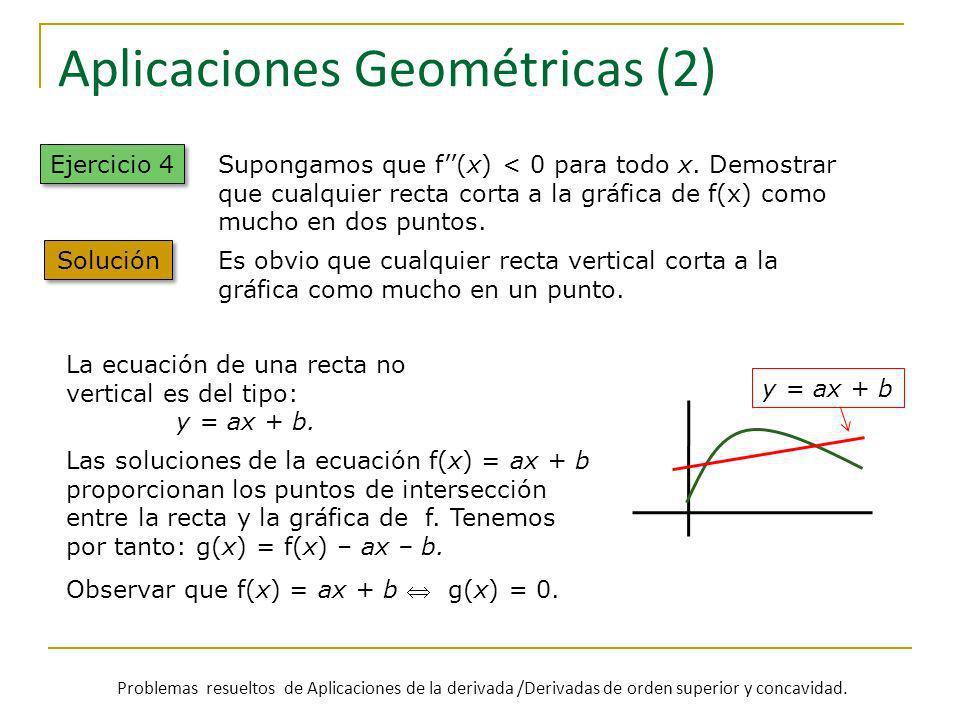 Aplicaciones Geométricas (2)