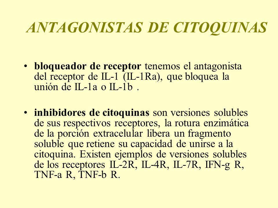 ANTAGONISTAS DE CITOQUINAS