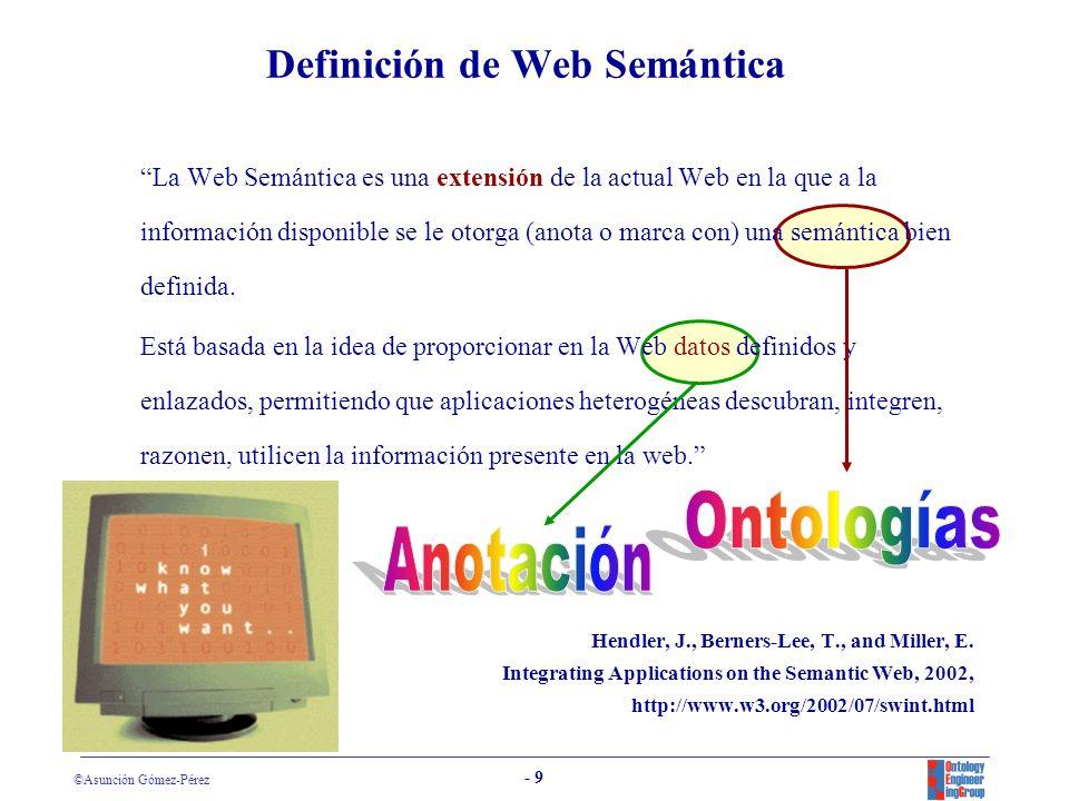 Definición de Web Semántica
