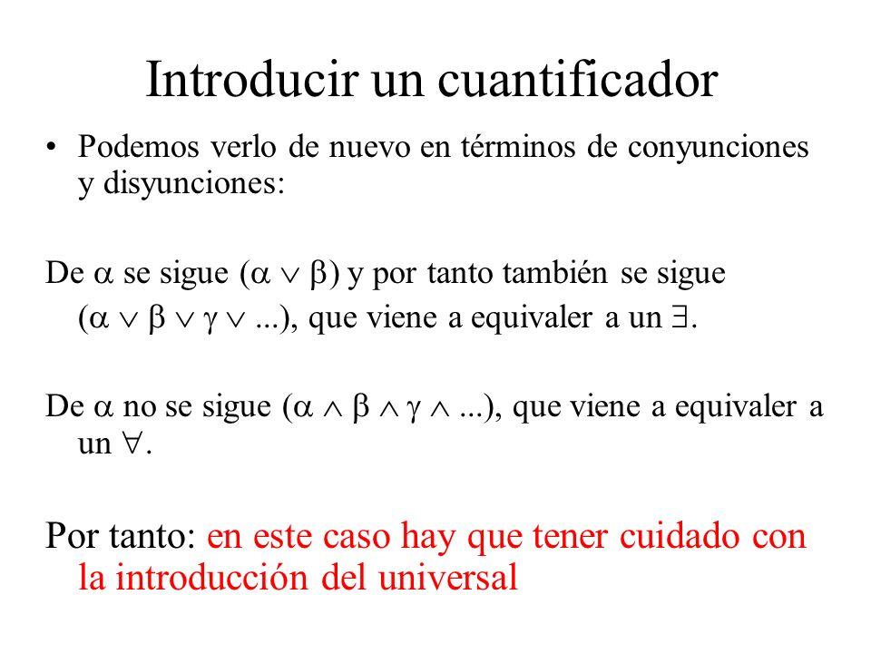 Introducir un cuantificador