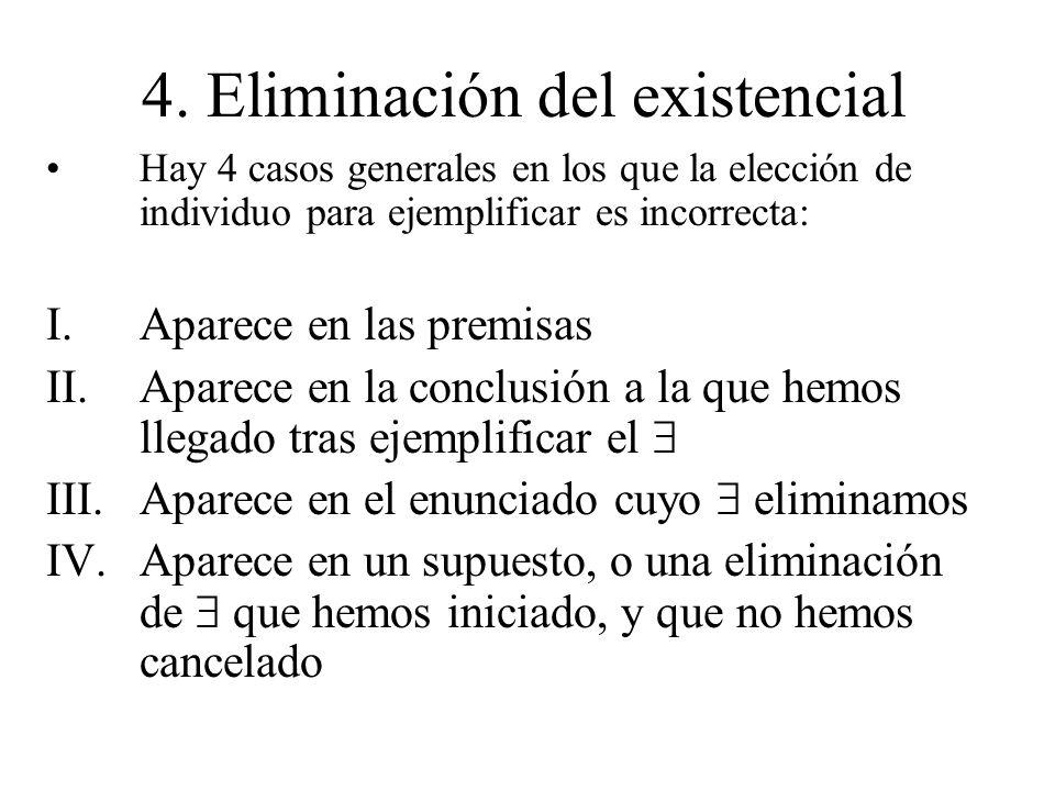 4. Eliminación del existencial